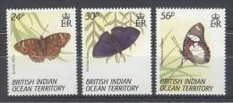 British Indian Ocean - 1994 Butterflies MNH__(TH-7926) - Britisches Territorium Im Indischen Ozean