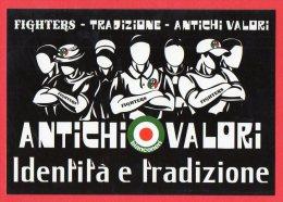 [MD0412] JUVENTUS - JUVE - FIGHTERS - TRADIZIONE - ANTICHI VALORI BIANCONERI - Calcio
