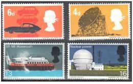 Regno Unito - 1966 - Nuovo/new - Tecnologia - Mi N. 430/33 - Ongebruikt