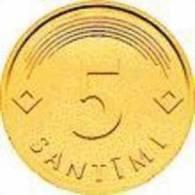LATVIAN 5 SANTIMI - COIN 2006 Y - UNC - Letland