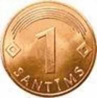 LATVIA -2007 Year-1 Sant - UNC - Letland