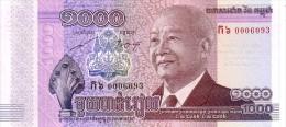 CAMBODGE   1 000 Riels Non Daté   ***** BILLET  NEUF ***** - Cambodia