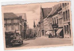 BELGIQUE  - ENGHIEN - EDINGEN - Rue Montgomery  - ( Commerces Et Voiture) - Enghien - Edingen