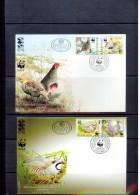 Jugoslawien / Yugoslavia / Yougoslavie 2000 WWF Rebhuhne / Partridges FDC - W.W.F.