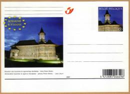 Carte Entier Postal Belge Monastère Sucevita - Romania