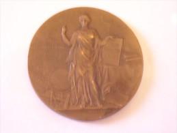 Médaille Bronze  Par Alphée Dubois , 1902 , Ministère De L´Instruction Publique - Non Classés