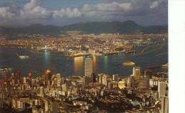 HK Night View From Peak - China (Hongkong)