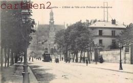 VERSAILLES HOTEL DE VILLE ET TRIBUNAL DE COMMERCE TRAMWAY CACHET PARC RESERVE AUTOMOBILE - Versailles