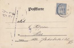 DR Karte Berliner Paketfahrt 24.8.98 - Privatpost