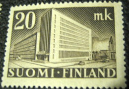 Finland 1945 Central Post Office In Helsinki 20MK - Used - Used Stamps