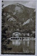 Cpsm Hotel Post A.  WALCHENSEE ( 812m ) Gegen  Kleingarten  ,1960 , Carte Photo Dentelée - Bad Toelz