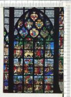 ROUEN -  Eglise Sainte Jeanne D Arc  -  VITRAIL  -  Triomphe De La Vierge  Ou  Vitrail Des Chars - Rouen