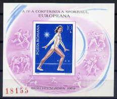Rumänien / Romania / Roumanie 1979 Block European Sport Congress Berchtesgaden** - European Ideas
