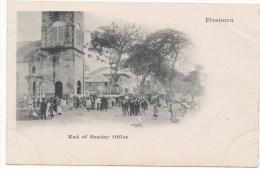 Freetown End Of Sunday Office - Sierra Leone