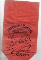 "Caen  14  , Petit Sachet Publicitaire "" Fromagerie Moderne "" Paul Muris Bd Des Allies A Caen - Other"