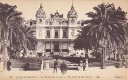 Monaco Monte Carlo La Facade Du Casino - Casino