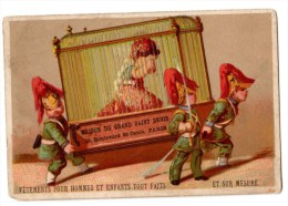 Ancienne Chromo Imp. Testu & Massin - Trade Cards