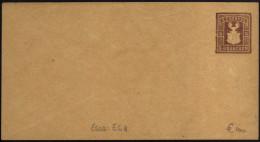Poste Privée, Express Company De Dresde (Dresden). Entier Postal, Ganzsache. Essai, Enveloppe. Blason De Dresde, Lion - Enveloppes
