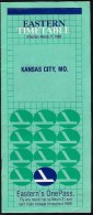 # EASTERN KANSAS CITY AIRPORT TIMETABLE 1988 Leaflet Aviation Flight Horaire Flugplan Orario Indicateur Calendario - Timetables