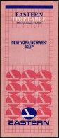 # EASTERN NEW YORK - NEWARK AIRPORT TIMETABLE 1988 Leaflet Aviation Flight Horaire Flugplan Orario Indicateur Calendario - Timetables