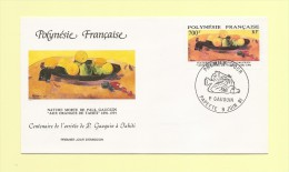 FDC - Polynésie - N°385 - Paul Gauguin - Oranges De Tahiti - FDC