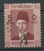 Egitto, 1937/44 - 5m King Faruk - Nr.210 Usato° - Usati