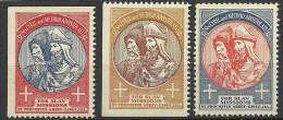Vignetten Cinderellas Werbung Advertising Poster Stamps For Slav Mission Slavisches Mission - Cinderellas