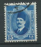 Egitto, 1923/24 - 15m King Fuad - Nr.98 Usato° - Usati