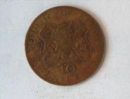 KENYA 10 CENTS 1968 - Kenya