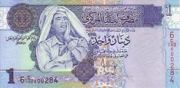 LIBYE  1 Dinar  Non Daté (2009)  Pick 71    ***** BILLET  NEUF ***** - Libya