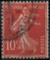 FRANCE  138 (o) Type Semeuse Sans Sol (16) Cachet - France