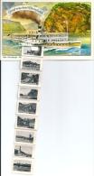 Postcard (Ships) - Multiple Card: Köln-Düsseldorfer Deutsche Rheinschiffahrt AG (different Back) - Passagiersschepen