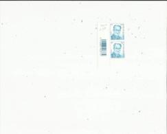 2  Timbres  Neufs  De L'Année  2002  0e42 Bleu - Belgio