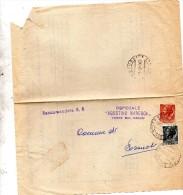 1960 LETTERA RACCOMANDATA CON ANNULLO TORRE DEL GRECO NAPOLI - 1946-60: Marcophilia