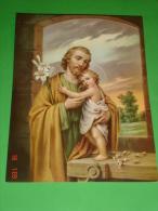 Cm.20 X 15 - S.GIUSEPPE Falegname - N°1632 - FB F.lli Bonella - Religion & Esotérisme