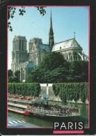 Paris ImageIn  Used To Australia Front & Back Shown - Notre Dame De Paris