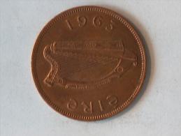 IRLANDE 1 PENNY 1963 - Irlande