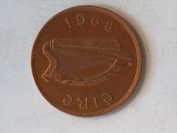 IRLANDE 1 PENNY 1968 - Irlande