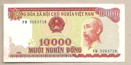 Vietnam - Banconota Circolata Da 10.000 Dong - 1993 - Vietnam