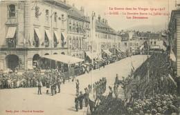 SAINT DIE LA DERNIERE REVUE 14 JUILLET 1914 LES DECORATIONS - Saint Die