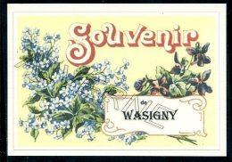 08  WASIGNY ......  Souvenir Au Fusain Creation Moderne Série Limitée Et Numerotée 1 à 10 ... N° 2/10 - Frankreich