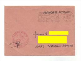 Enveloppe En FP, Flamme Secap De Montluçon,  Avec Cachet ECOLE DE GENDARMERIE, Service Des Deniers De 1978 - Marcophilie (Lettres)