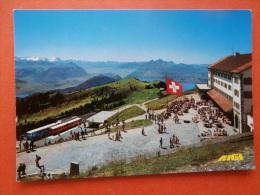 31172  PC: SWITZERLAND: LU LUCERNE: RIGI-KULM 1800 M U. M. Vitznau Und Arth-Rigi-Bahnen, Berner Alpen Und Pilatus. - LU Luzern