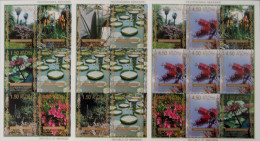 ABKAZIE - PARC BOTANIQUE DE SOUKOUMI 15/07/1999 - 3 FEUILLETS NEUFS ** - PH 398/07F - Géorgie