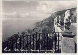RAVELLO  - Villa Cimbrone - Panorama Verso POSITANO - Salerno