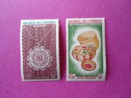 Comores Aériens Neuf   N° 8/9 ** ( Lot 16 ) - Comoro Islands (1950-1975)