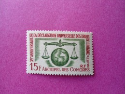 Comores Poste Neuf  N° 28 ** ( Lot 14 ) - Comoro Islands (1950-1975)