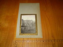 Drôme: Photo De Saint Uze Collée Sur Carton Rigide . 10 Novembre 1924 - Lieux