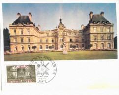 Paris Centenaire Du Sénat -  Cartes Philatéliques Premier Jour - - Other Monuments