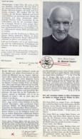 Santino Depliant EHRW. DIENER GOTTES BR. MEINRAD EUGSTER Con RELIQUIA (Ex-Indumentis) - PERFETTO G22 - Religione & Esoterismo